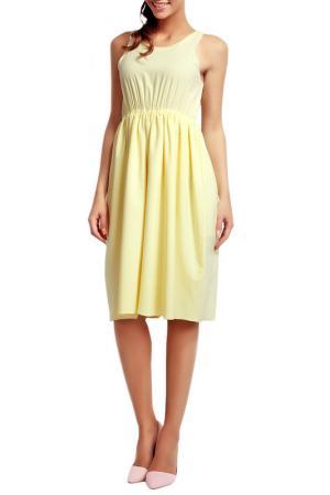 Платье NOMMO. Цвет: yellow