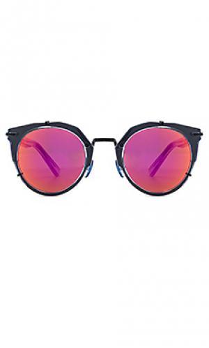 Солнцезащитные очки sphinx WESTWARD LEANING. Цвет: синий