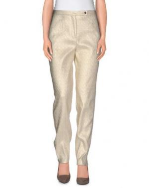 Повседневные брюки GENNY. Цвет: бежевый