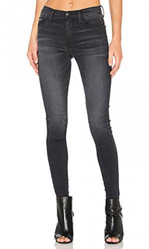 Узкие джинсы gisele Black Orchid. Цвет: none