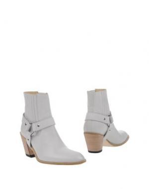 Полусапоги и высокие ботинки FREE LANCE. Цвет: белый