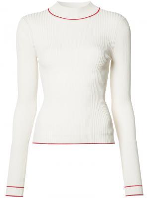 Блуза Bianca Misha Nonoo. Цвет: белый