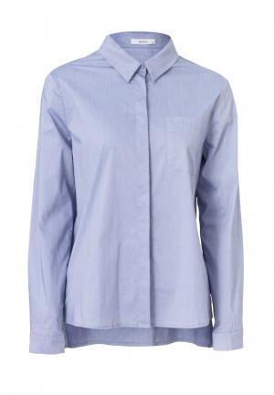 Рубашка Emka. Цвет: голубой