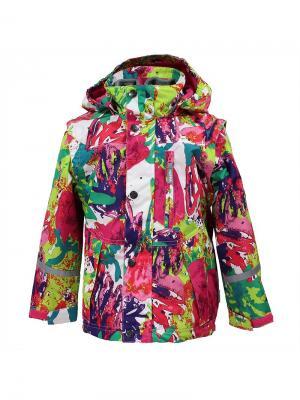Куртка HUPPA. Цвет: белый