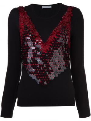 Sequin embellished jumper Altuzarra. Цвет: чёрный