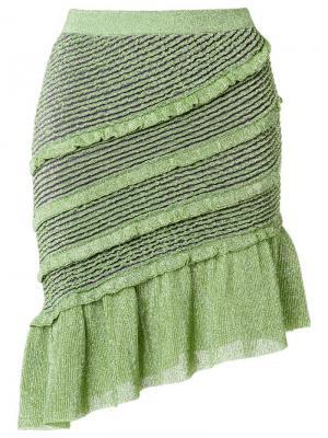 Knit skirt Gig. Цвет: зелёный