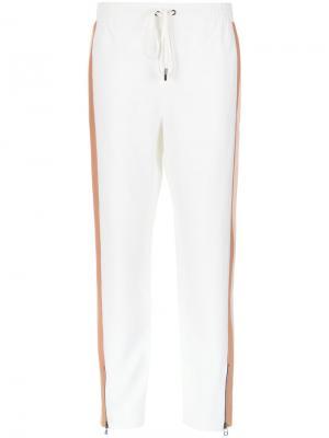 Straight panelled trousers Nk. Цвет: телесный
