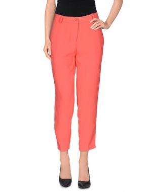 Повседневные брюки ANNARITA N.. Цвет: коралловый