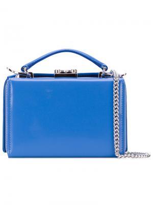Grace box handbag Mark Cross. Цвет: синий