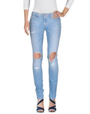 Джинсовые брюки ID. Цвет: синий