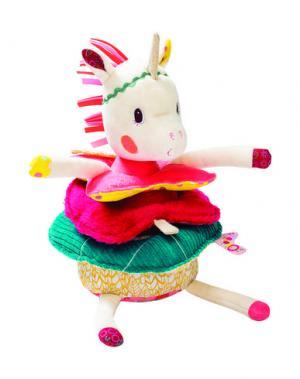 Игрушки для малышей LILLIPUTIENS. Цвет: фуксия