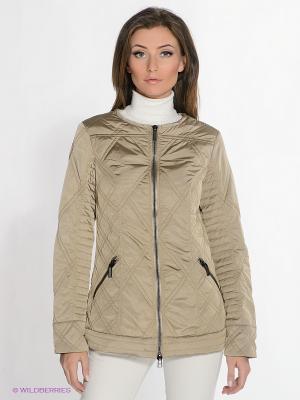 Куртка ODRI. Цвет: темно-бежевый