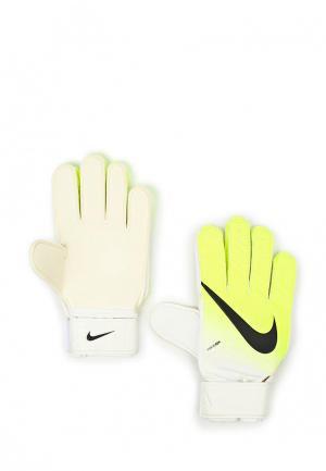 Перчатки футбольные Nike. Цвет: желтый