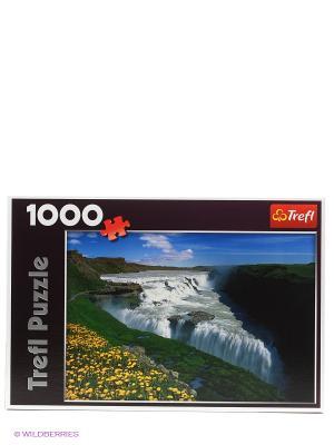 ПазлЗолотой водопад, Исландия Trefl. Цвет: зеленый