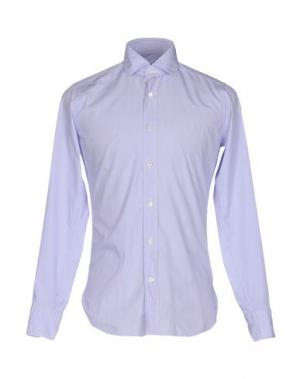 Pубашка GUGLIELMINOTTI. Цвет: сиреневый