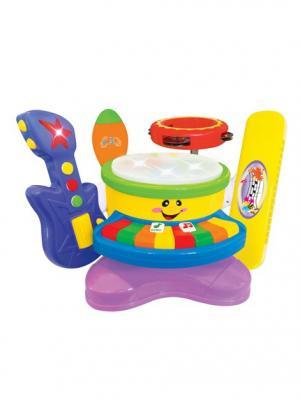 Развивающая игрушка Музыкальный оркестр 6 в 1 Kiddieland. Цвет: фиолетовый, желтый, синий