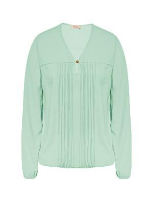 Блузка Endea. Цвет: светло-зеленый