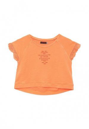 Свитшот Catimini. Цвет: оранжевый