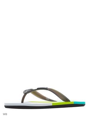 Шлепанцы WATER Joma. Цвет: зеленый, белый