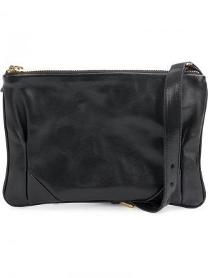 Маленькая сумка на плечо Cornelian Taurus By Daisuke Iwanaga. Цвет: чёрный
