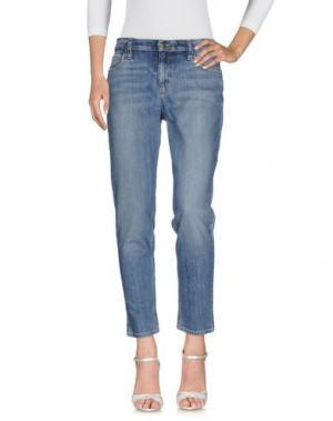 Джинсовые брюки JOE'S JEANS. Цвет: синий