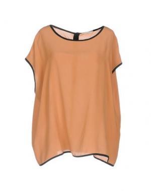Блузка NIOI. Цвет: верблюжий