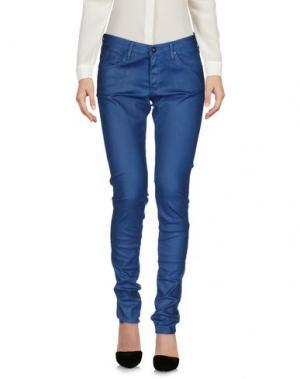 Повседневные брюки AG ADRIANO GOLDSCHMIED. Цвет: синий