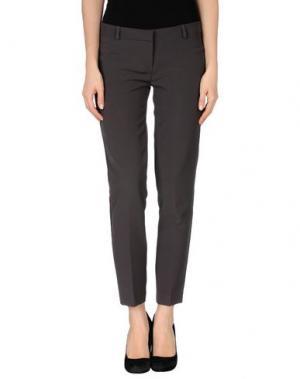 Повседневные брюки TO-MAY. Цвет: свинцово-серый