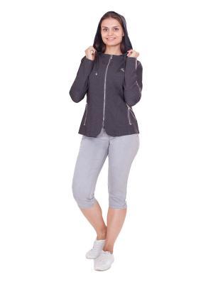 Куртка LAFEI-NIER. Цвет: антрацитовый
