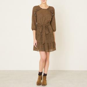 Платье RELAX BA&SH. Цвет: шафран