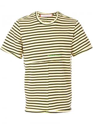 Полосатая футболка Eckhaus Latta. Цвет: многоцветный