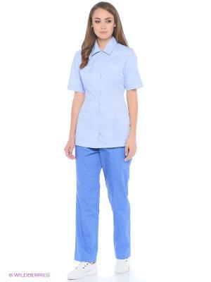 Куртка Med Fashion Lab. Цвет: светло-голубой