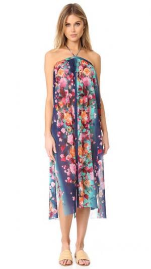Пляжное платье на купальник Fuzzi. Цвет: мальдивские острова