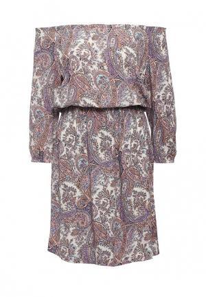 Платье Sela. Цвет: фиолетовый