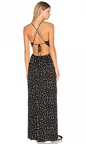 Платье simian Clayton. Цвет: черный