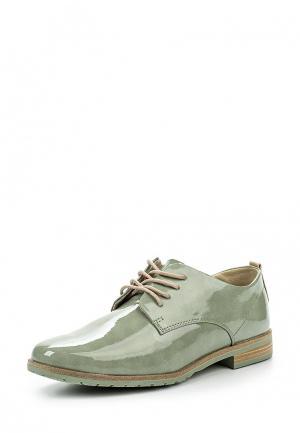 Ботинки Marco Tozzi. Цвет: зеленый