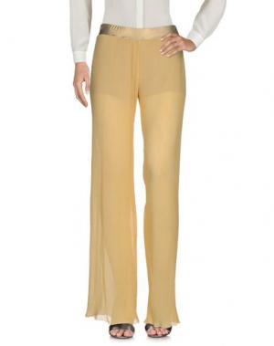 Повседневные брюки F**K PROJECT. Цвет: светло-желтый