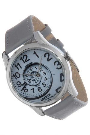 Часы Спираль времени MITYA VESELKOV. Цвет: серый