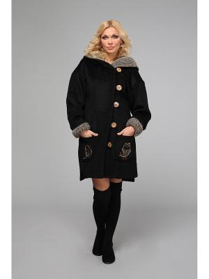 Пальто KATA BINSKA. Цвет: черный