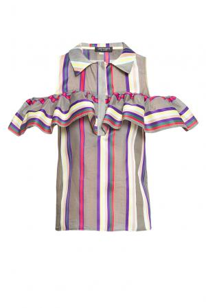 Блуза 186260 Cristina Effe. Цвет: разноцветный