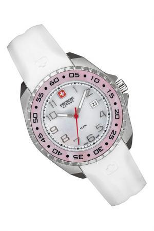 Наручные часы Swiss military. Цвет: white