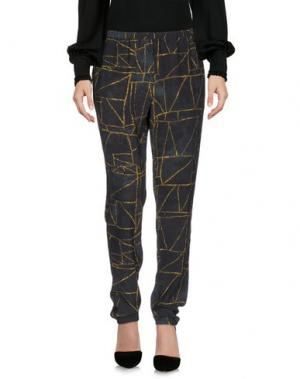 Повседневные брюки ATTIC AND BARN. Цвет: темно-зеленый
