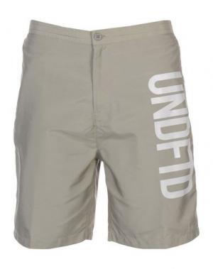 Пляжные брюки и шорты UNDEFEATED. Цвет: серый