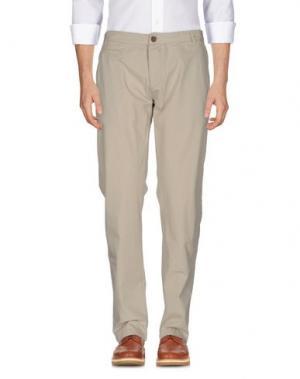 Повседневные брюки RANSOM. Цвет: бежевый