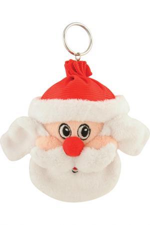 Брелок Дед Мороз Mister Christmas. Цвет: белый
