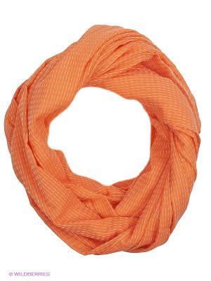 Палантин Luhta. Цвет: оранжевый