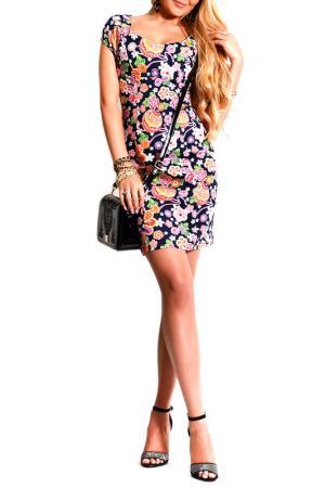Платье FRANCESCA LUCINI. Цвет: королевский