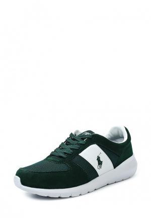 Кроссовки Polo Ralph Lauren. Цвет: зеленый