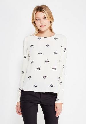 Блуза Vero Moda. Цвет: бежевый