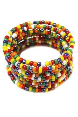 Браслет Spirale Divetro. Цвет: синий, желтый, оранжевый